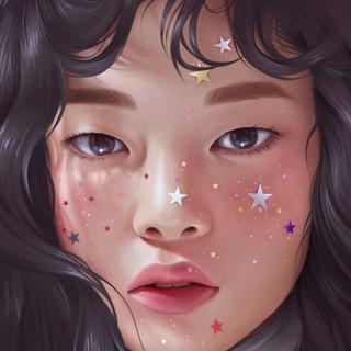 Freckled Stars (Photo Study)