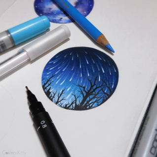 Starry Doodle #7