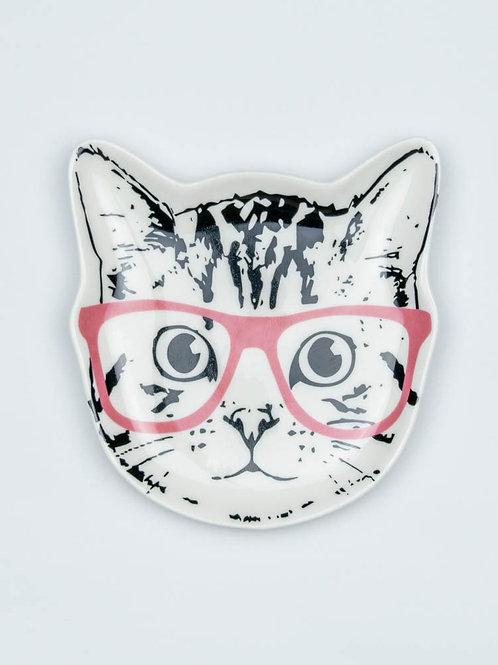 Cool Cat Trinket Dish