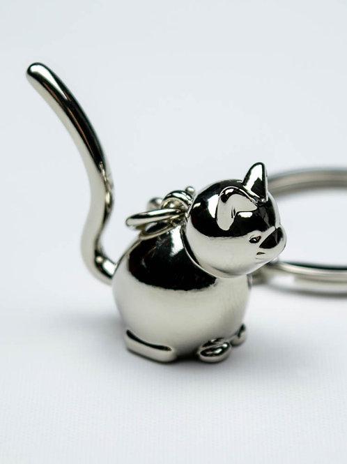 Cute Cat Keychain