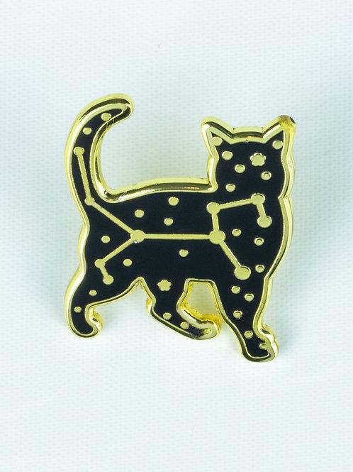 Kitty Constellation Enamel Pin