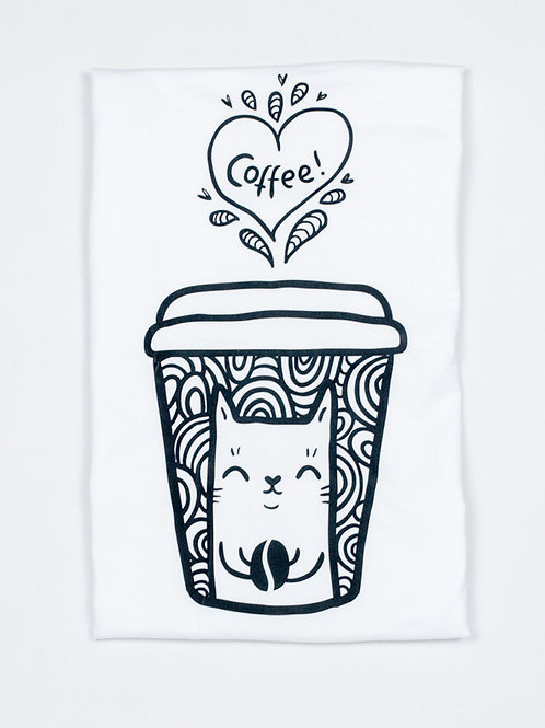 Purrista Cat and Coffee Tank Top