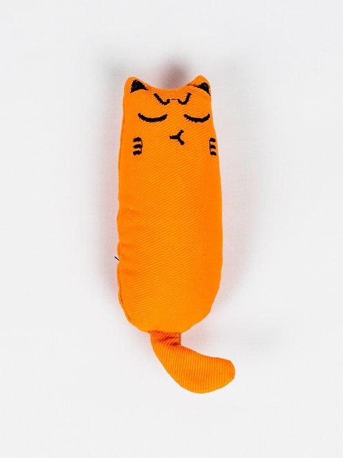 Moody Cat Catnip Toy Grumpa-lumpa front view