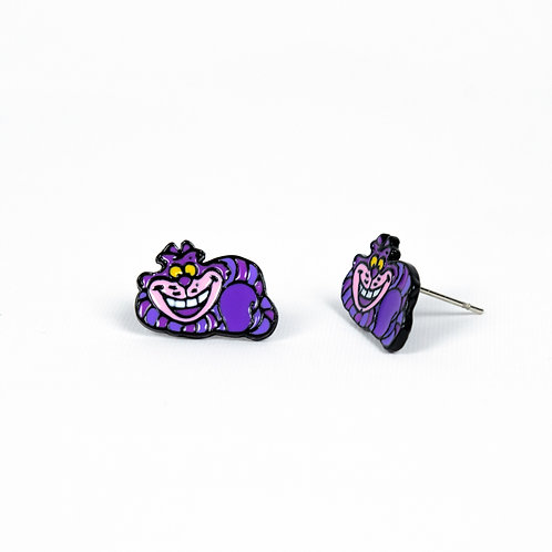 Cheshire Cat Earrings side view
