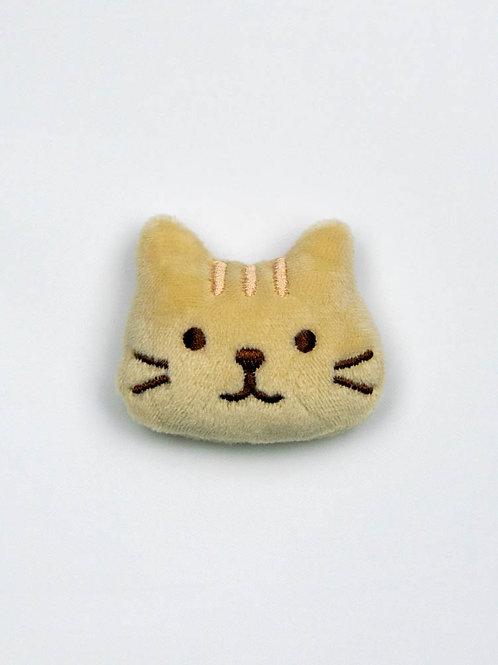Cat Face Catnip Toy - Buttercup