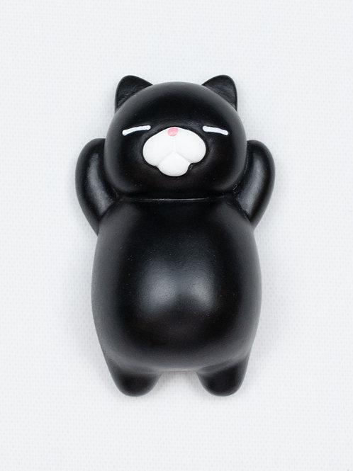Sleepy Cat Fridge Magnet - Merlin