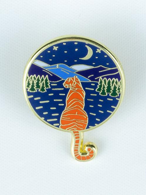 Tiger Enamel Pin
