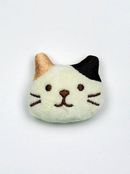 Cat Face Catnip Toy - Calico