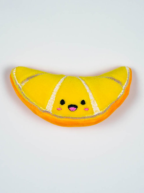 Orange Wedge Cat Toy