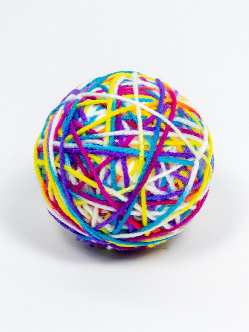 Yarn Ball Cat Toy