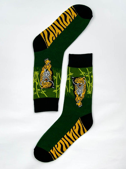 Men's Wild Tiger Socks