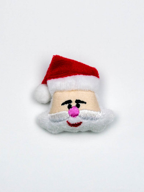 Santa Face Catnip Toy