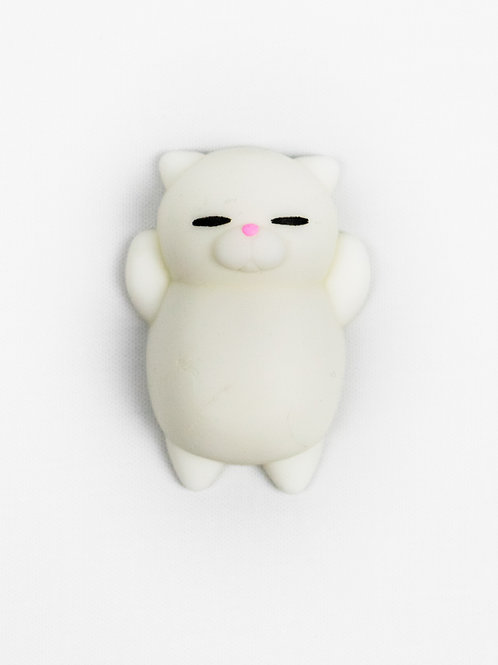 Mr Jellybelly Cat Squishy - Casper front view