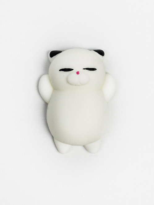 Mr Jellybelly Cat Squishy - Oreo front view