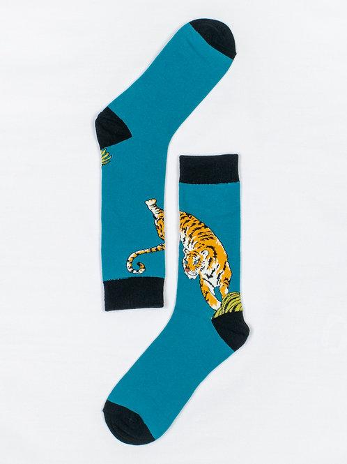 Men's Tiger Crew Socks