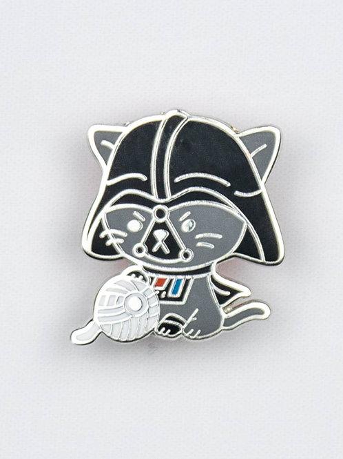 Cat Vader Enamel Pin