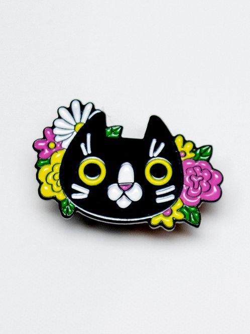 Pretty Kitty Enamel Pin