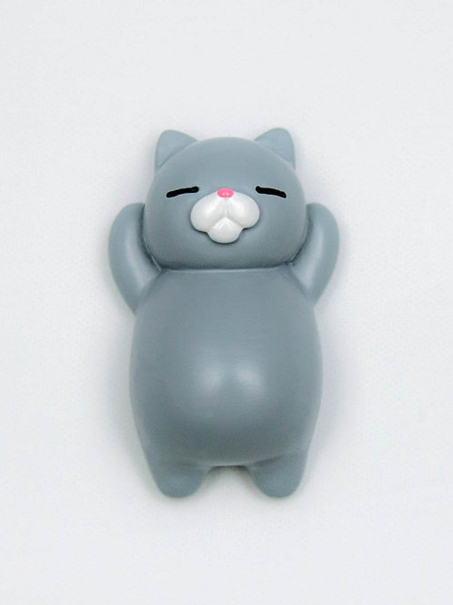 Sleepy Cat Fridge Magnet - Earl Grey