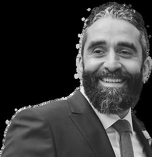 Bassam Tarazi with a beard