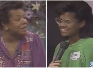 Old Folks Can Learn From That Viral Dr. Maya Angelou Clip Too