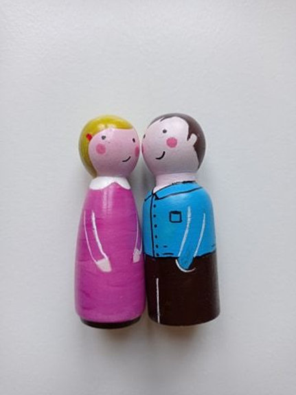 Paul et Rose - poupées tracas