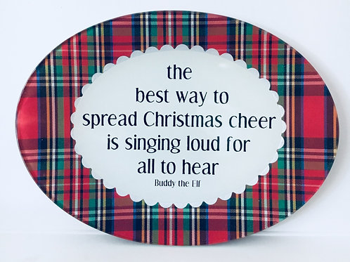 The Best Way to Spread Christmas Cheer...