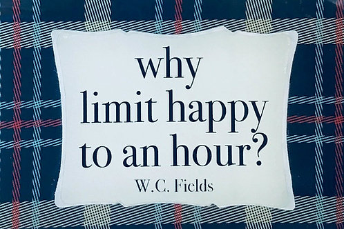Why Limit...