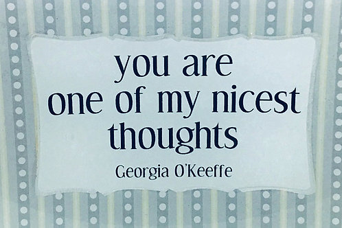 You Are One of My Nicest Thoughts