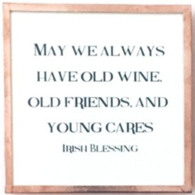 May We Always Have Old Friends...
