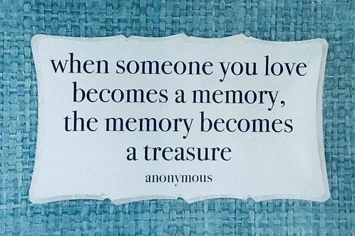 When Someone You Love...