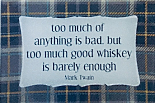 Too Much of Anything is Bad...