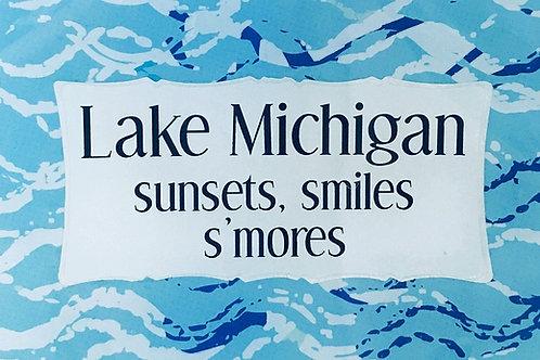 Lake Michigan: sunsets, smiles, s'mores