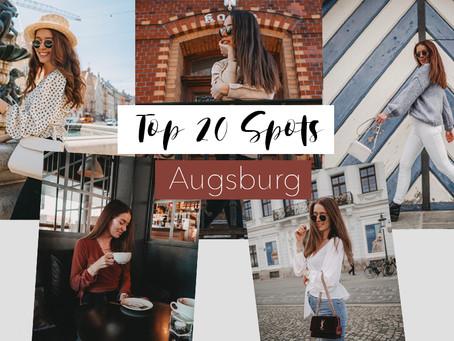 Die 20 schönsten Foto Locations in Augsburg