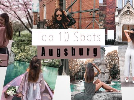 Die 10 schönsten Foto Locations in Augsburg