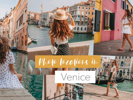 Die schönsten Fotomotive in Venedig