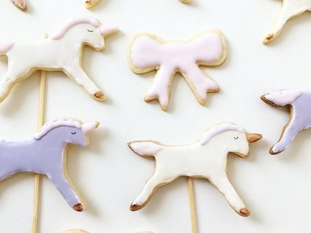 Einhorn Cookies