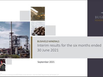 Analysis of Bushveld Minerals Cash Generation - Part 1