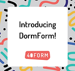 DormForm Announcement Post - Multicolor.
