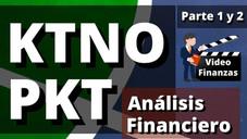 KTNO Capital de Trabajo Neto Operativo y PKT Productividad del Capital de Trabajo. Cálculo y Ejemplo