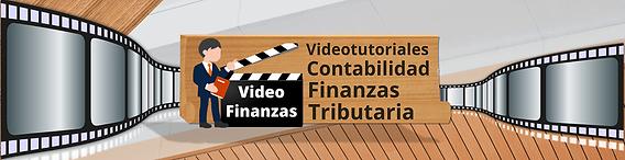 Videofinanzas tutoriales Finanzas Contabilidad Tributaria