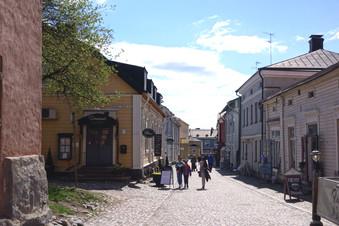木造建築物が美しい、フィンランドで2番目に古い町