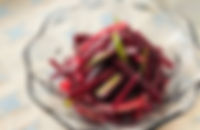 赤ビーツのサラダ