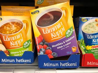 フィンランドでブルーベリー商品を探そう!
