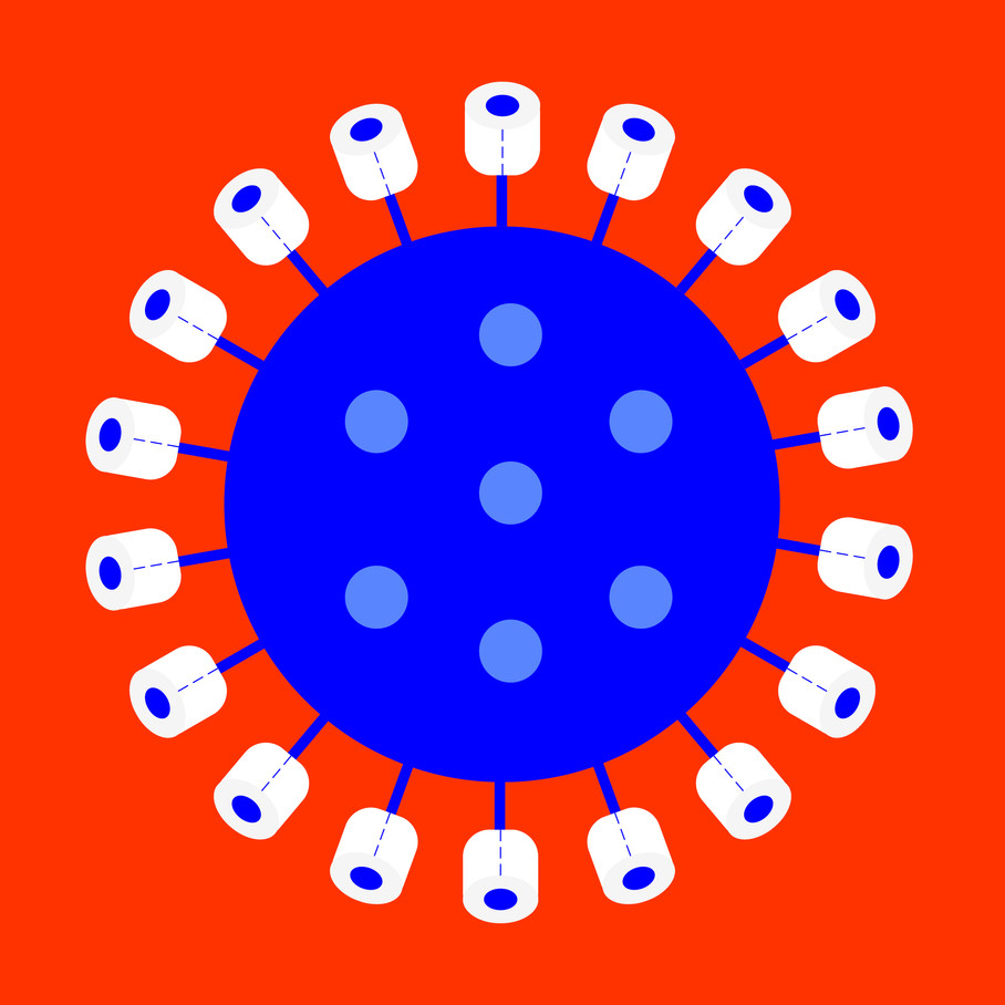 coronavirus vs. toilet paper