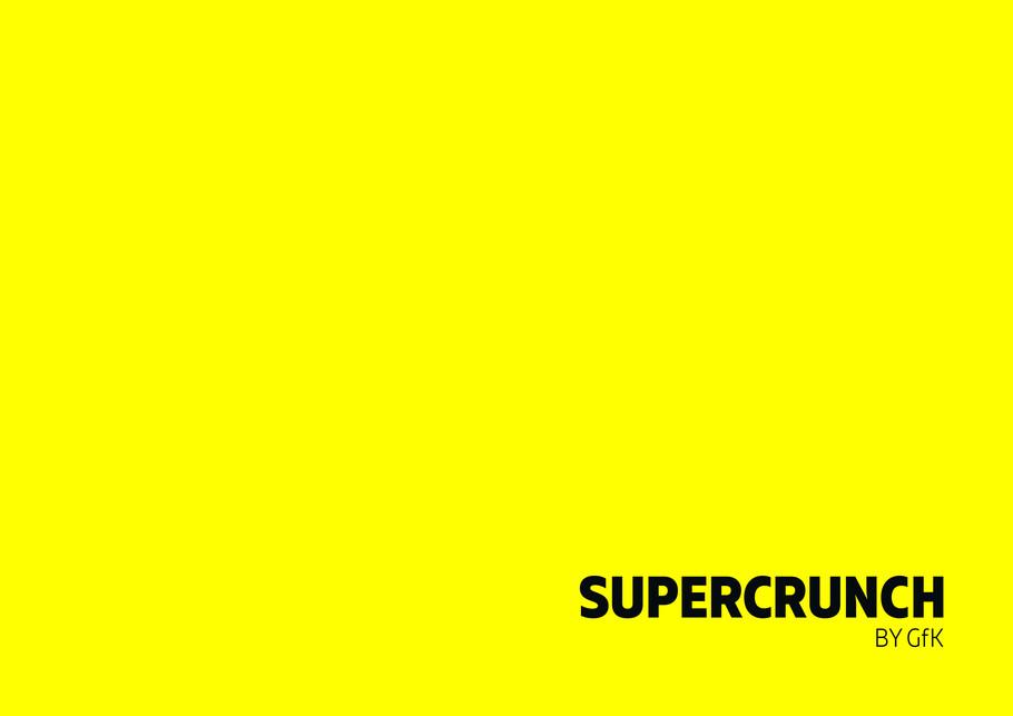 SUPERCRUNCH by GfK