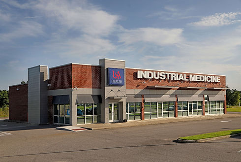 Exterior of USA Health Industrial Medicine