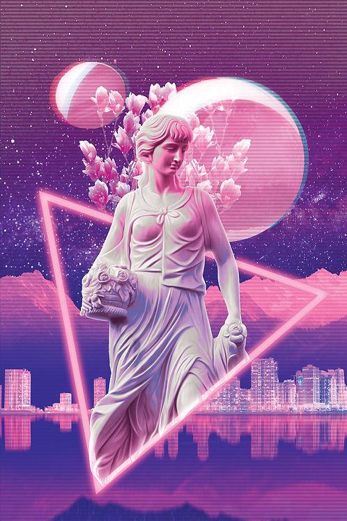 Holographic Poster