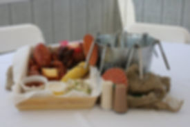 Our famous lobster bake!