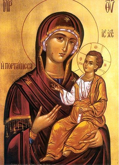 Theotokos: Madre de Dios.