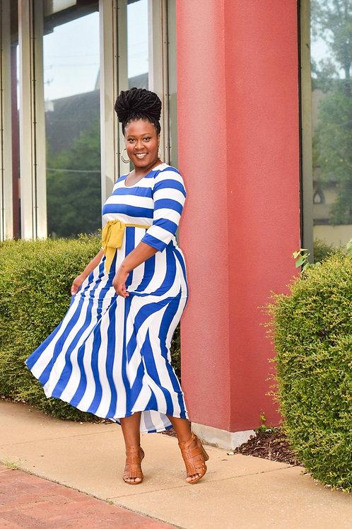 Melody | Striped Mini-Max Dress